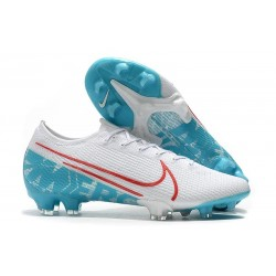 Nike Mercurial Vapor 13 Elite FG White Blue