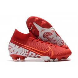 Nike Mercurial Superfly VII Elite FG Boots Red White