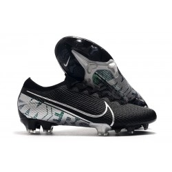 Nike Mercurial Vapor XIII Elite FG Firm Ground Boot Black Silver
