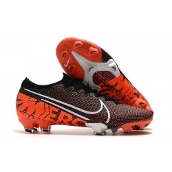 Nike Mercurial Vapor XIII Elite FG Limited Edition Black White Hyper Crimson