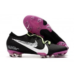 Nike Mercurial Vapor XIII Elite FG Black Purple White Silver