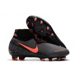 Nike Phantom VSN Elite DF FG Dark Grey/Bright Mango/Black