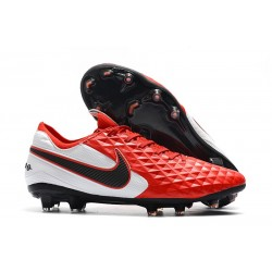 Soccer Boots Nike Tiempo Legend 8 FG Red White Black