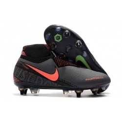Nike Phantom Vision Elite DF SG-Pro Anti Clog Dark Grey Bright Mango