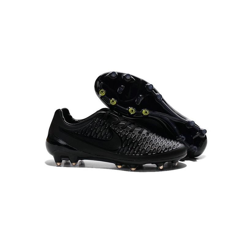 Nike Magista Opus FG - New Football Shoes Black Volt