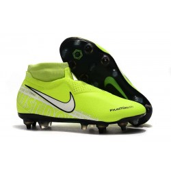 Nike Phantom Vision Elite DF SG-Pro Anti Clog Volt White