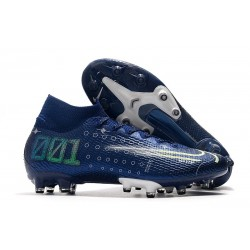Nike Mercurial Superfly 7 Elite AG-PRO Boots Blue Void Volt White