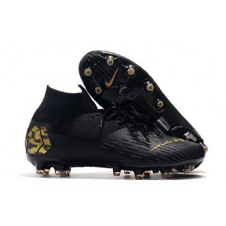 Nike Mercurial Superfly 7 Elite AG-PRO Boots Black Gold