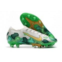 Nike Mercurial Vapor XIII Elite AG-PRO Mbappe White Green Gold