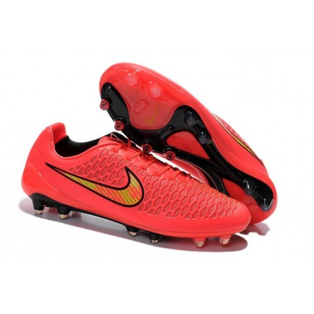 Nike Magista Opus FG - New Football Shoes Pink Black