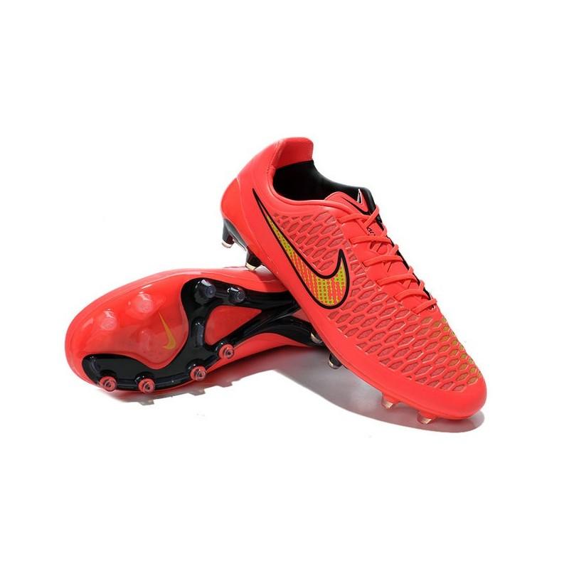 Nike Magista Opus FG - New Football Shoes Pink Black
