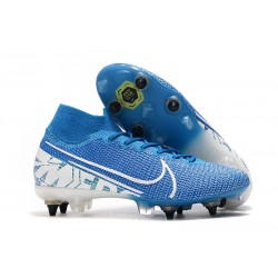 Nike Mercurial Superfly VII Elite SG-PRO AC New Lights Blue White