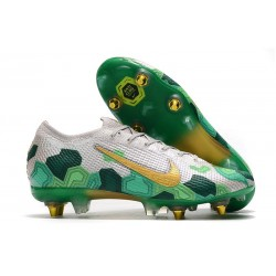 Nike Mercurial Vapor 13 Elite SG-Pro AC Mbappe Grey Gold Green