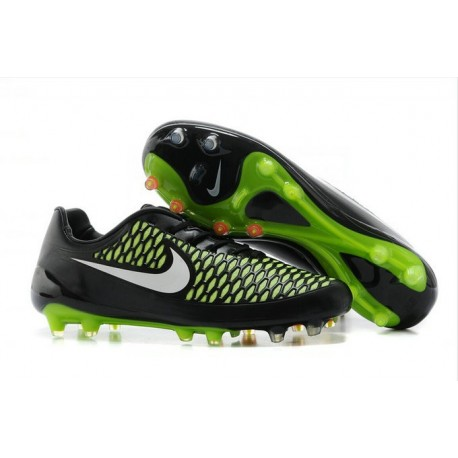 Nike Magista Opus FG - New Football Shoes Black Green White