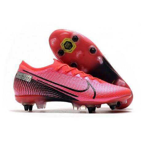 Nike Mercurial Vapor 13 Elite SG-Pro AC Future Lab -Laser Crimson Black