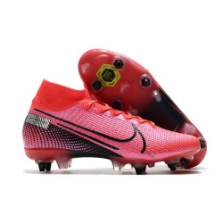 Nike Mercurial Superfly VII Elite SG-PRO AC Future Lab -Laser Crimson Black