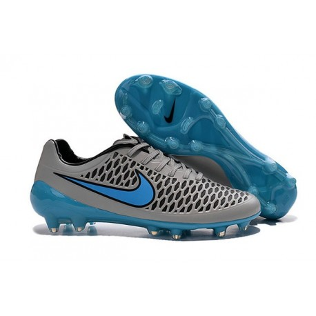 2016 Nike Magista Opus FG Men's Soccer Cleats Wolf Grey Turquoise Blue Black