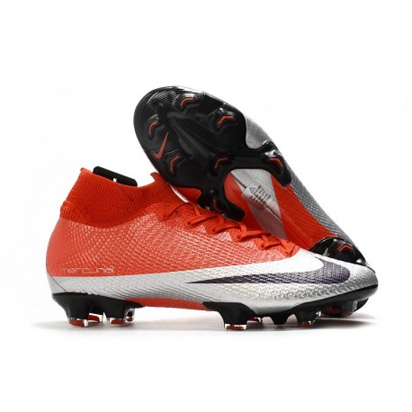 Nike Mercurial Superfly 7 Elite FG Future DNA Red Silver Black