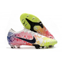 News Nike Mercurial Vapor 13 Elite FG Neymar White Black Racer Blue Volt