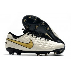 Soccer Boots Nike Tiempo Legend 8 FG White Gold Black