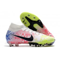 Nike Mercurial Superfly 7 Elite AG-PRO Neymar White Black Racer Blue Volt