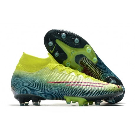 Nike Mercurial Superfly 7 Elite AG-PRO Boots Lemon