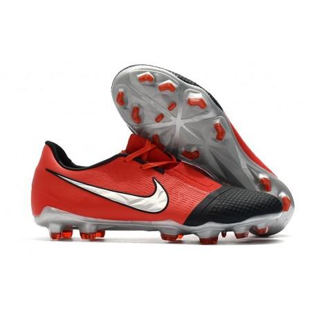 Nike Phantom Vnm Elite FG Laser Crimson Metallic Silver Black