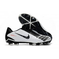 Nike Phantom Vnm Elite FG Soccer Boot -White Black Red