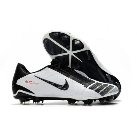 Nike Phantom Vnm Elite FG Soccer Boot -White Black Red