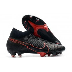 Nike Mercurial Superfly VII Elite DF FG Black Red