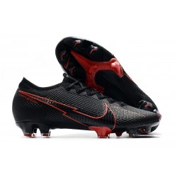 News Nike Mercurial Vapor 13 Elite FG ACC Black Red