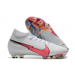 Nike Mercurial Superfly VII Elite DF FG White Flash Crimson Blue