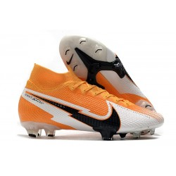 Nike Mercurial Superfly VII Elite DF FG Daybreak - Orange Black White