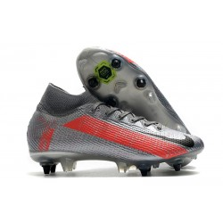 News Nike Mercurial Superfly 7 Elite SG AC Neighbourhood -Bomber Grey Black