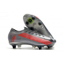 Nike Mercurial Vapor XIII Elite SG Anti Clog Bomber Grey Black