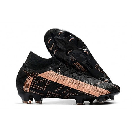 Nike New Mercurial Superfly 7 Elite FG - Black Pink