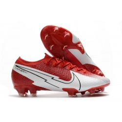 Nike Mercurial Vapor XIII Elite FG - Crimson White