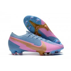 New Nike Mercurial Vapor 13 Elite FG Blue Pink Gold