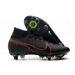 News Nike Mercurial Superfly 7 Elite SG AC Black Red