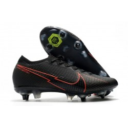 Nike Mercurial Vapor XIII Elite SG Anti Clog Black Red