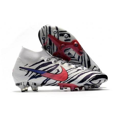 Nike Mercurial Superfly 7 Elite AG-PRO Boots Korea White Black Red