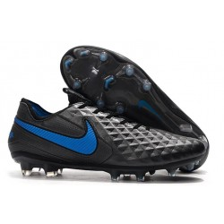 New Shoes - Nike Tiempo Legend VI FG Soccer Cleats Black Blue