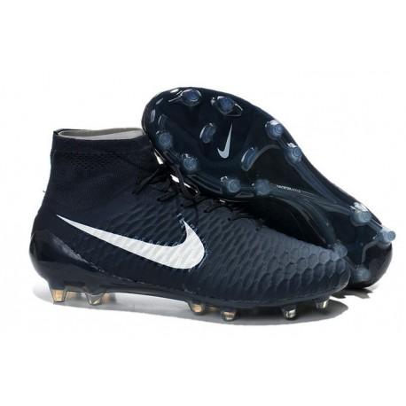 Boots For Men Nike Magista Obra FG Soccer Boots Cyan White