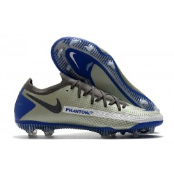Nike Phantom GT Elite FG New Cleats Grey Blue Black