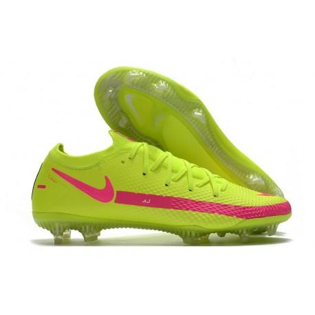 Nike Phantom GT Elite FG New Cleats Brazil Volt Pink