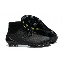 2016 Nike Magista Obra Firm-Ground Soccer Shoes all Black