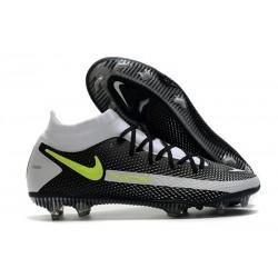 New 2021 Nike Phantom GT Elite DF FG Boots Black Gray