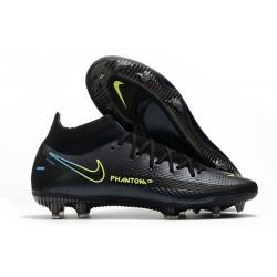 Nike Phantom GT Elite DF FG Mens Cleat Black Volt