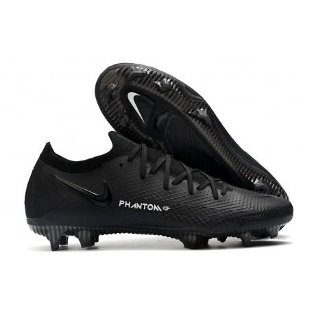 Nike 2021 Phantom GT Elite FG Soccer Shoes Black
