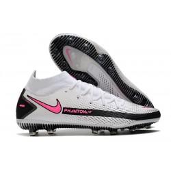 Nike Phantom GT Elite Dynamic Fit AG-PRO White Pink Black